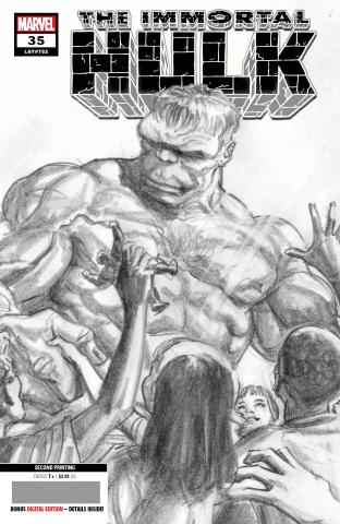 The Immortal Hulk #35 (Alex Ross 2nd Printing)