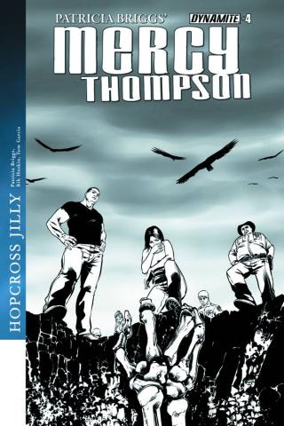 Mercy Thompson #4 (10 Copy Garcia B&W Cover)