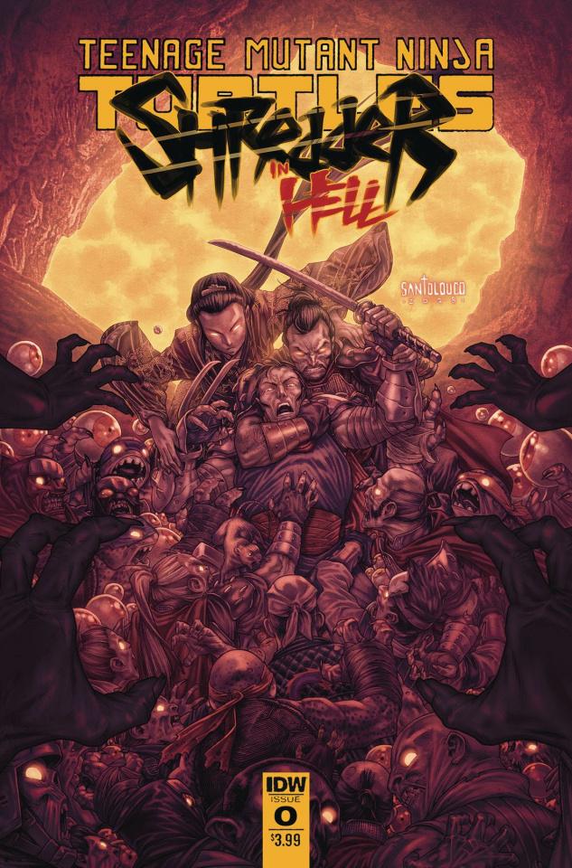 Teenage Mutant Ninja Turtles: Shredder in Hell #2 (Santolouco Cover)