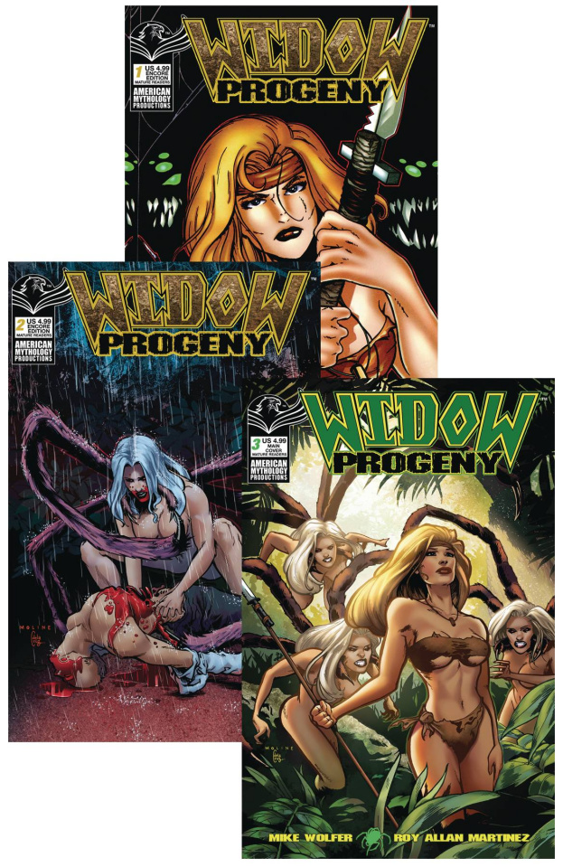 Widow: Progeny #1-3 (Reader Set)