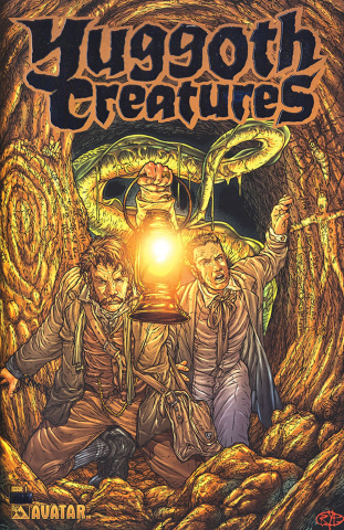 Yuggoth Cultures #1 (Platinum Foil Cover)