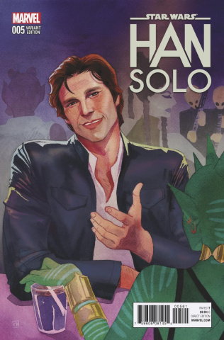 Star Wars: Han Solo #5 (Wada Cover)