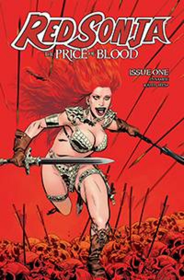 Red Sonja: The Price of Blood #1 (CGC Graded Golden Cover)