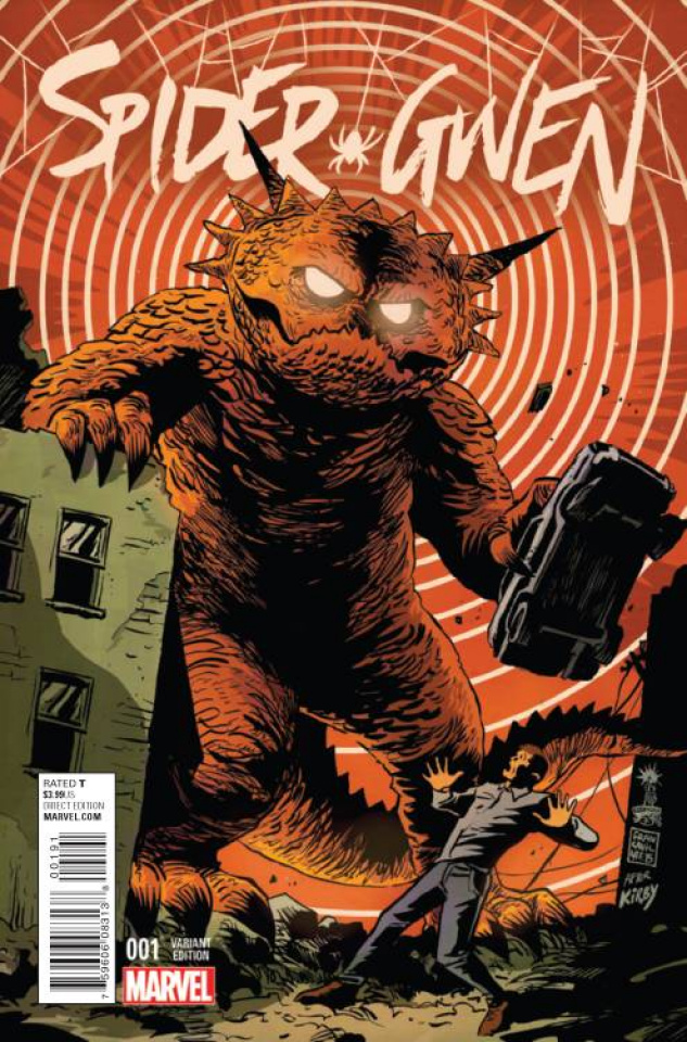 Spider-Gwen #1 (Francavilla Kirby Monster Cover)
