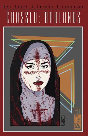 Crossed: Badlands #91 (Art Deco Cover)