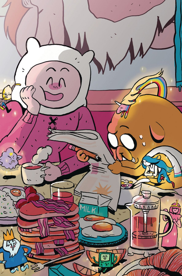 Adventure Time: Beginning of the End #2 (Subscription Daguna Cover)