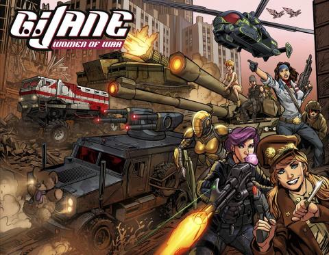 G.I. Jane: Women of War #1