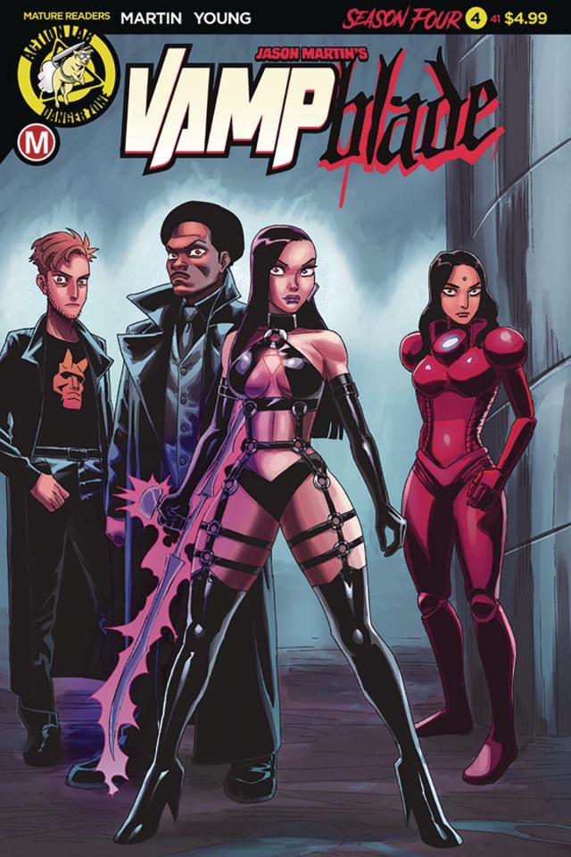 Vampblade, Season Four #4 (Young Cover)