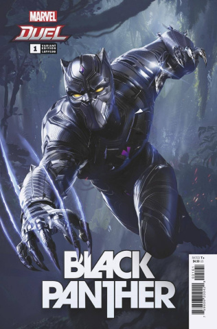 Black Panther #1 (Netease Marvel Games Cover)
