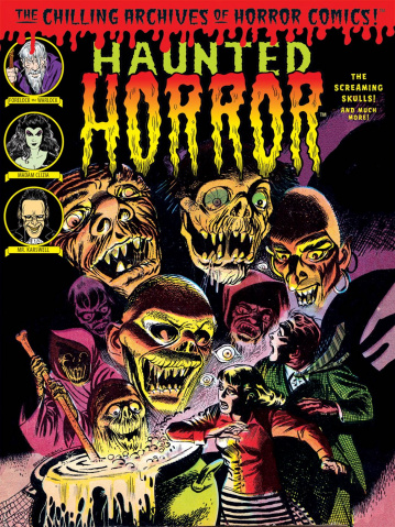 Haunted Horror Vol. 5: The Screaming Skulls!