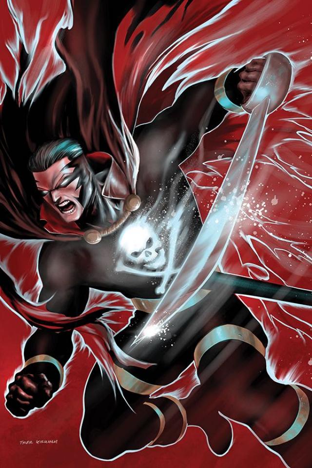 Black Terror #2 (KirkhamcVirgin Cover)