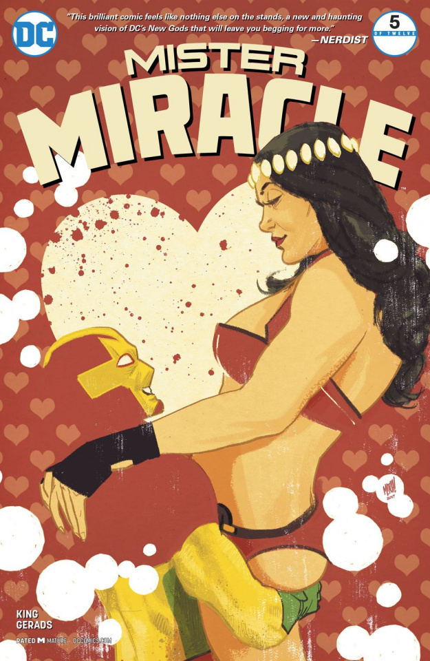 Mister Miracle #5 (Variant Cover)