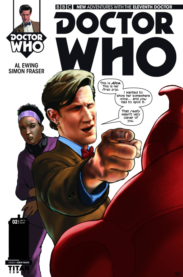 Doctor Who: New Adventures with the Eleventh Doctor #2 (25 Copy Fraser Stark Cover)