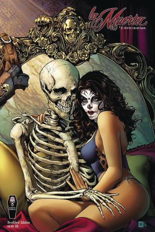 La Muerta: Retribution #2 (Death Bed Cover)