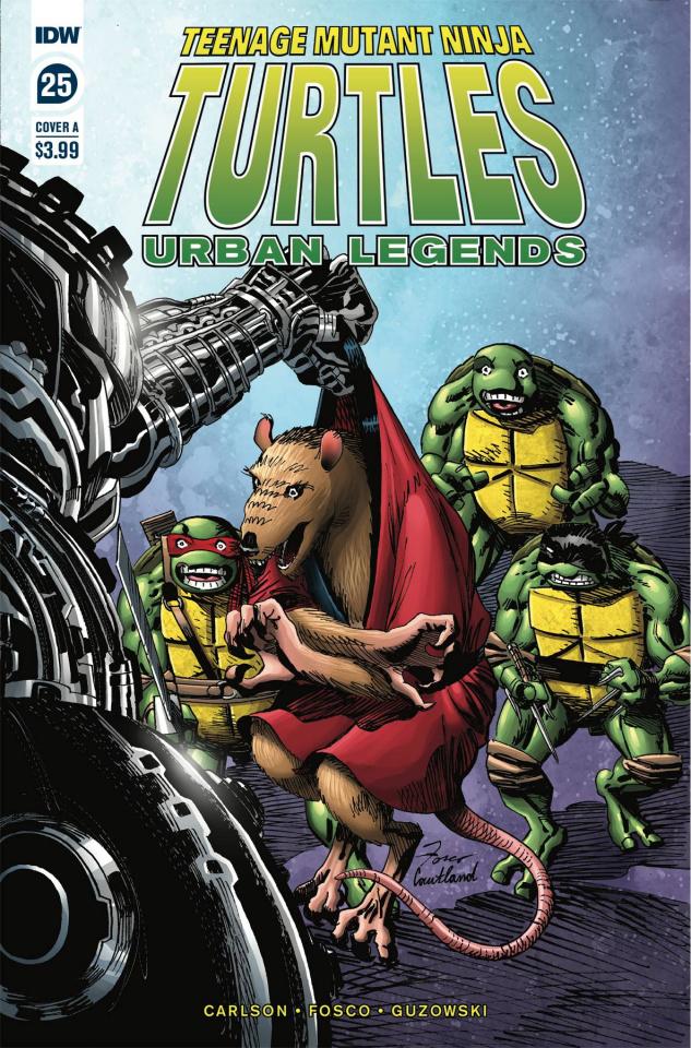 Teenage Mutant Ninja Turtles: Urban Legends #25 (Fosco Cover)