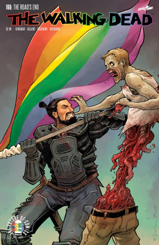 The Walking Dead #168 (Pride Month Cover)
