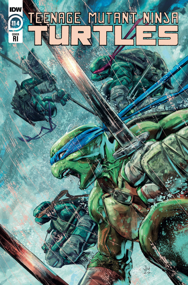 Teenage Mutant Ninja Turtles #114 (10 Copy Jesus Hervas Cover)