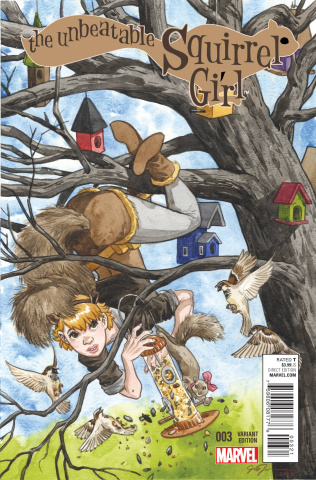 The Unbeatable Squirrel Girl #3 (Thompson Cover)