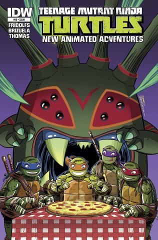 Teenage Mutant Ninja Turtles: New Animated Adventures #10