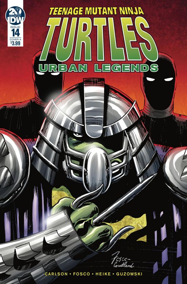 Teenage Mutant Ninja Turtles: Urban Legends #14 (Fosco Cover)