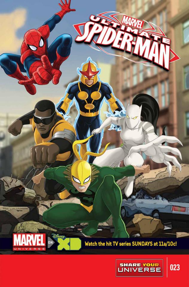 Marvel Universe: Ultimate Spider-Man #23