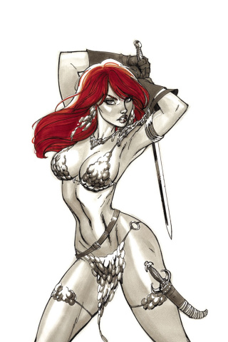 Red Sonja #2 (40 Copy Campbell Virgin Cover)