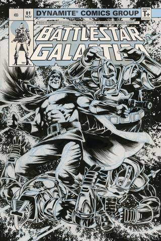 Battlestar Galactica Classic #1 (25 Copy Jones B&W Cover)