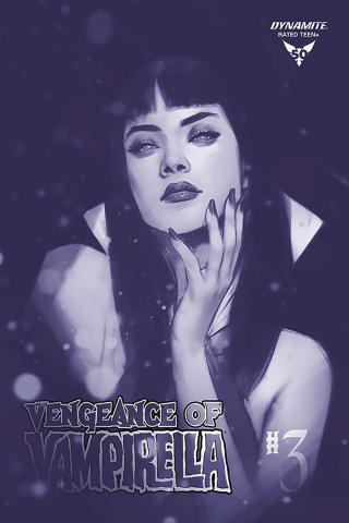 Vengeance of Vampirella #3 (40 Copy Oliver Tint Cover)