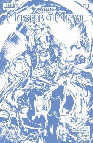 Magic: Master of Metal #1 (Foil Gorham Cover)