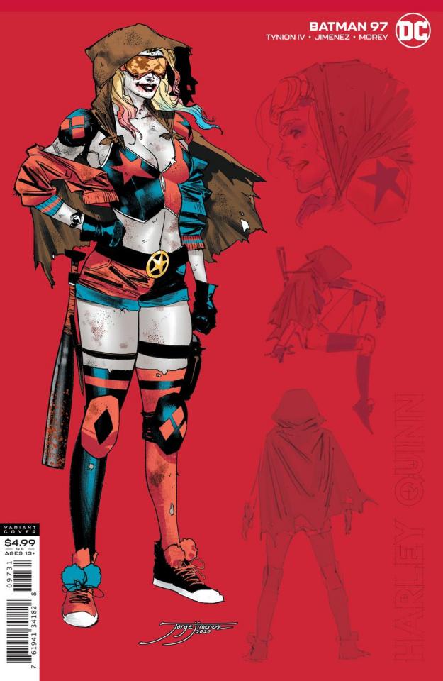 Batman #97 (1:25 Jorge Jimenez Harley Cover)