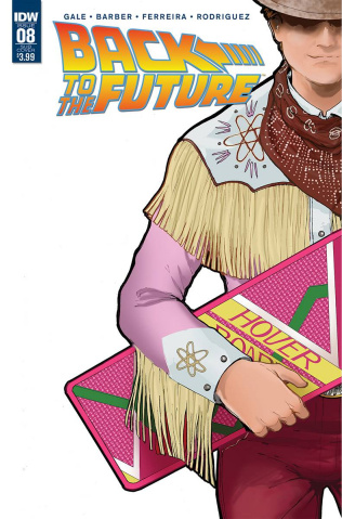 Back to the Future #8 (Subscription Cover)