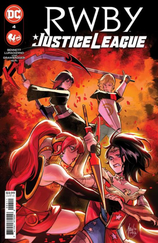 RWBY / Justice League #4 (Mirka Andolfo Cover)