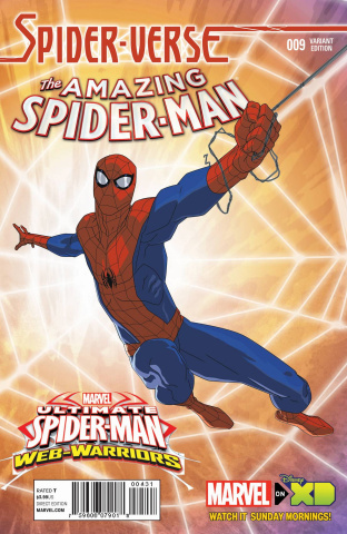 The Amazing Spider-Man #9 (Marvel Animation Spider-Verse Cover)