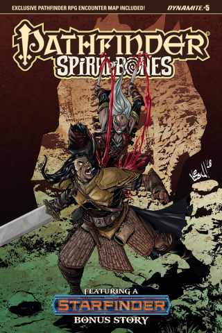 Pathfinder: Spiral of Bones #5 (Federici Cover)