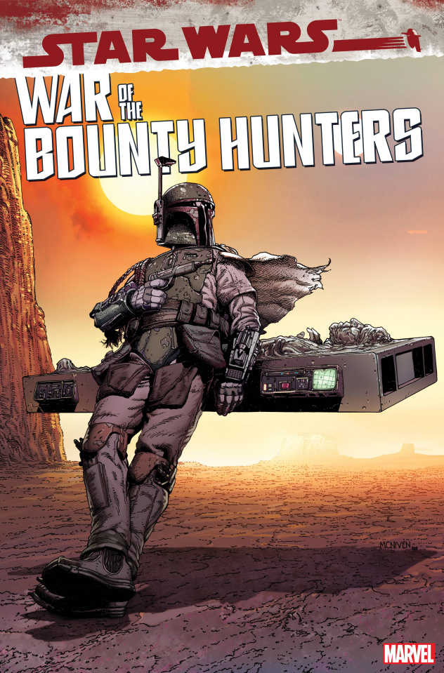 Star Wars: War of the Bounty Hunters #5 (McNiven Cover)