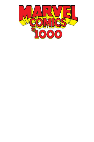 Marvel Comics #1000 (Blank Cover)