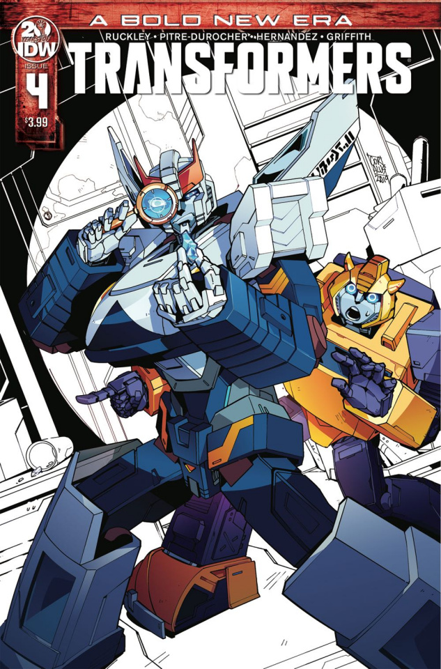 The Transformers #4 (2nd Printing)