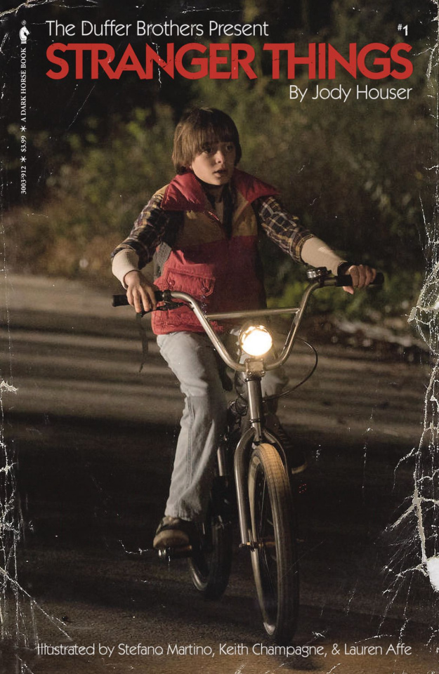 Stranger Things #1 (Satterfield Photo Cover)