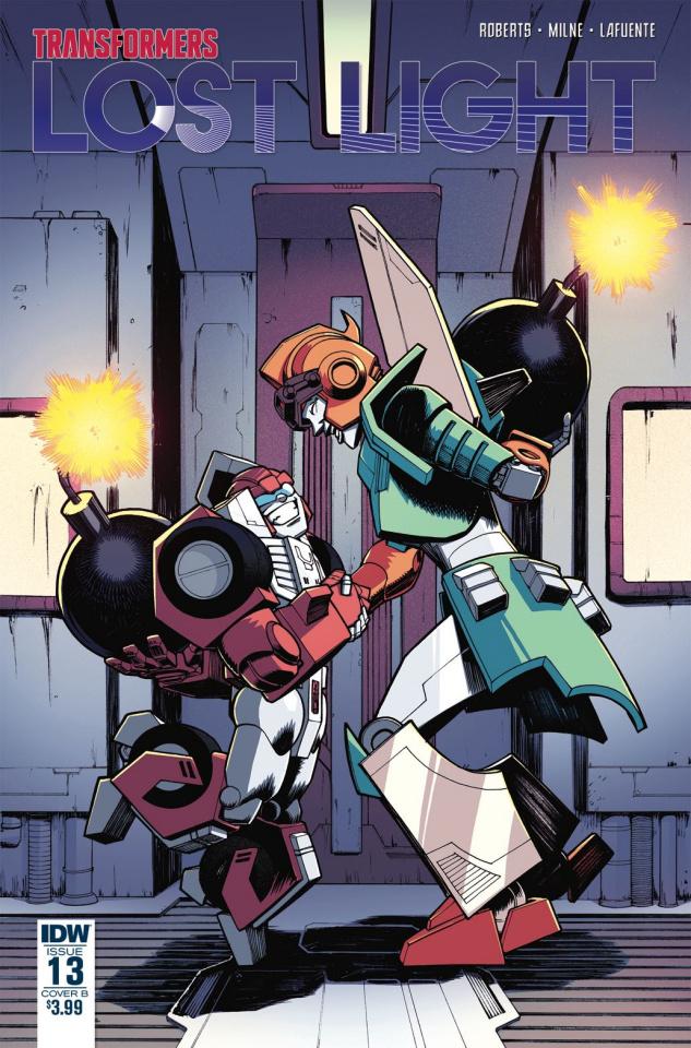 The Transformers: Lost Light #13 (Roche Cover)