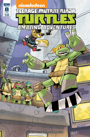 Teenage Mutant Ninja Turtles: Amazing Adventures #8 (Subscription Cover)