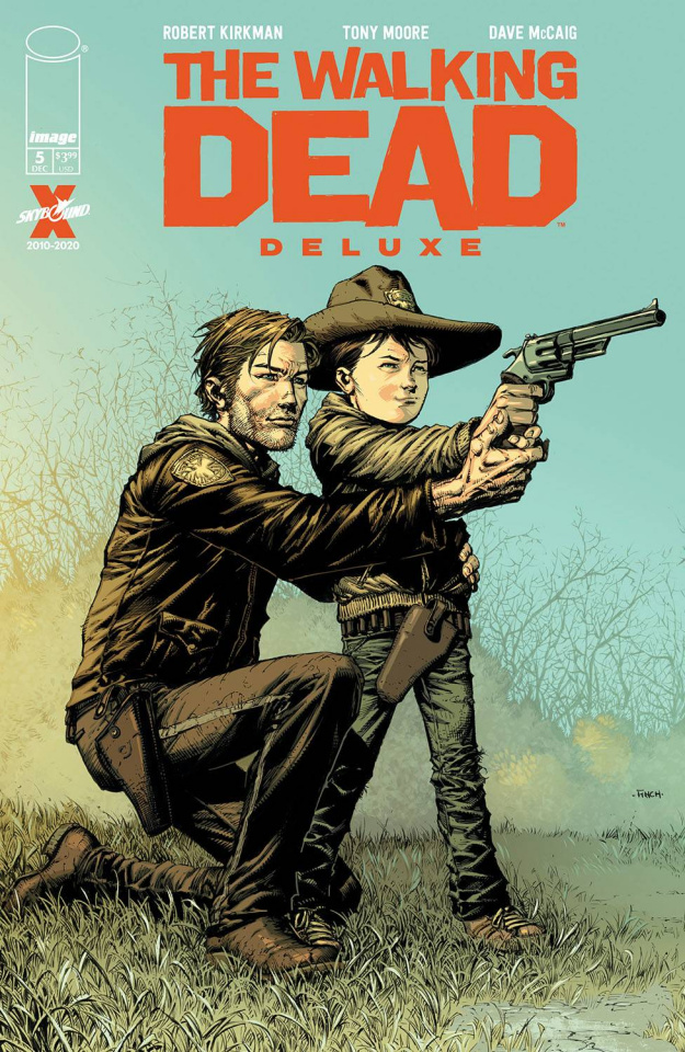 The Walking Dead Deluxe #5 (Finch & McCaig Cover)