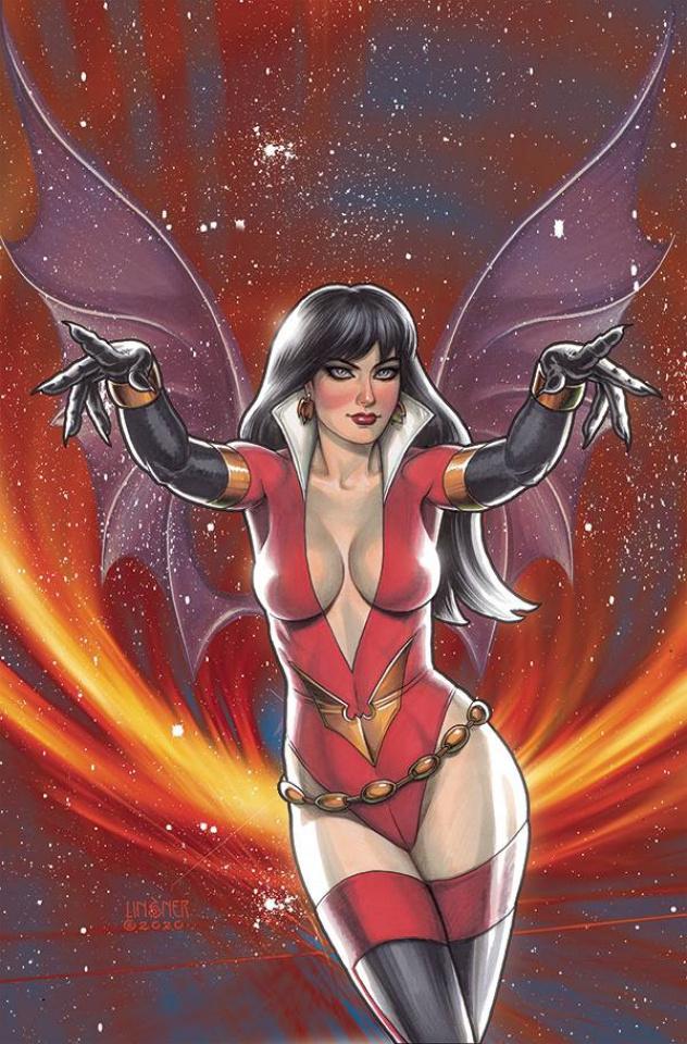 Vampirella: The Dark Powers #5 (Linsner Virgin Cover)