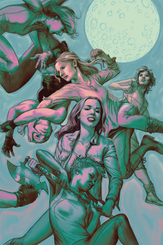 Buffy the Vampire Slayer, Season 11 #8 (Morris Cover)