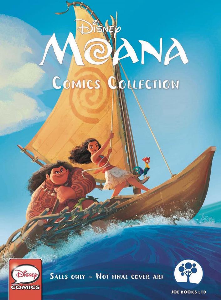 Moana Comics Collection