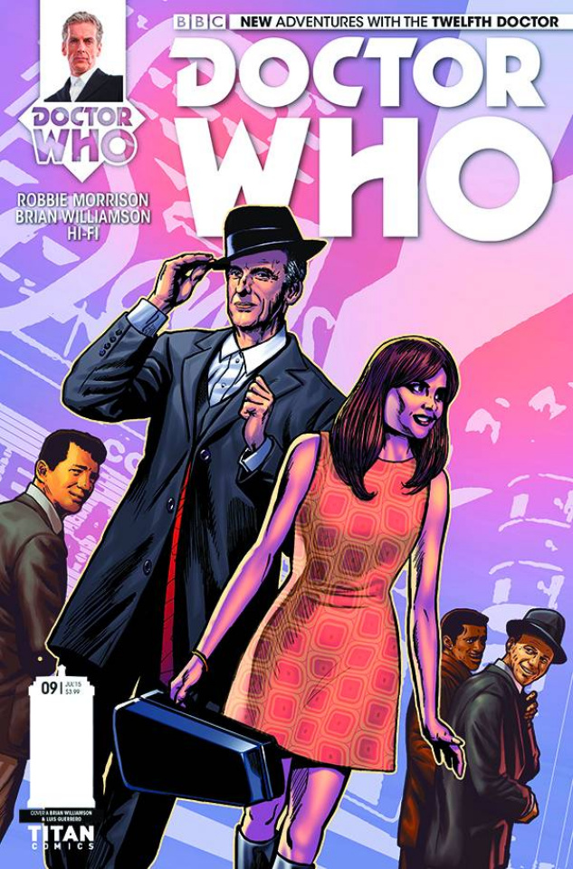 Doctor Who: New Adventures with the Twelfth Doctor #9 (Williamson Cover)