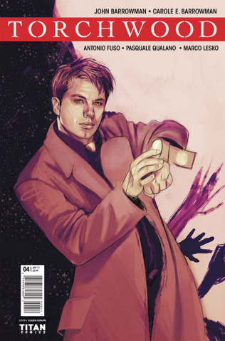 Torchwood #4 (Caranfa Cover)