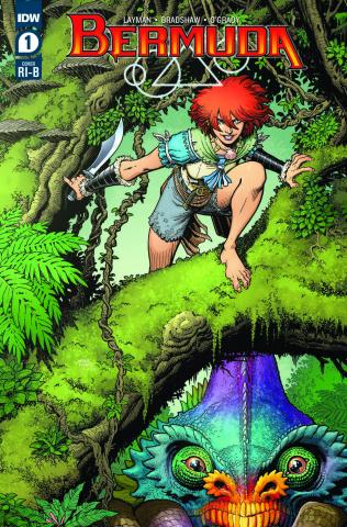 Bermuda #1 (25 Copy Art Adams Cover)
