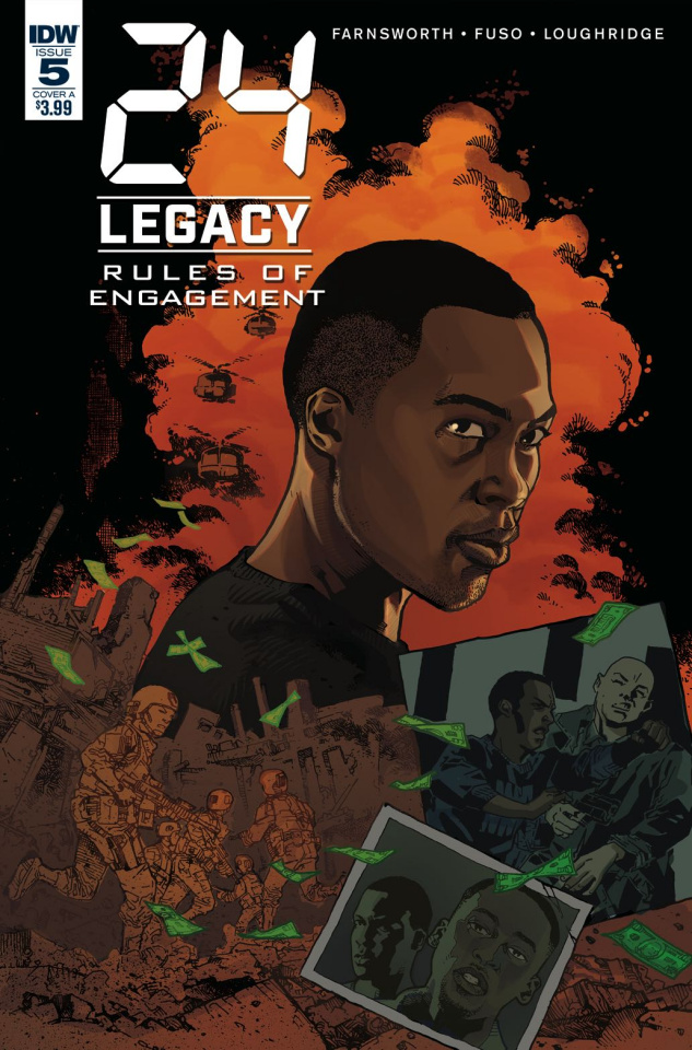 24 Legacy: Rules of Engagement #5 (Jeanty Cover)