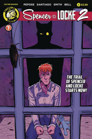 Spencer & Locke 2 #2 (Santiago Cover)