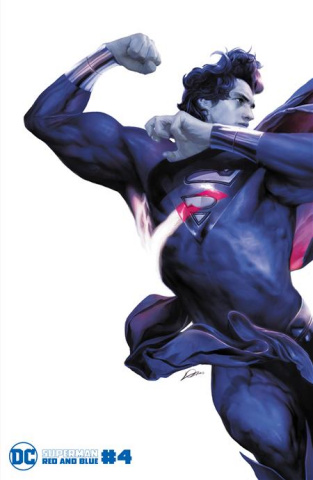 Superman: Red and Blue #4 (Alexander Lozano Cover)